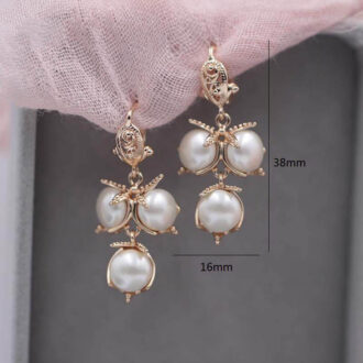 Pearl Earrings size